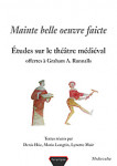Ebook Mainte belle oeuvre faicte, Denis HÜE - Mario LONGTIN - Lynette MUIR