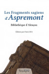 Les Fragments sagiens d'Aspremont Epub- Denis HÜE
