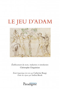Le Jeu d'Adam - Christophe CHAGUINIAN