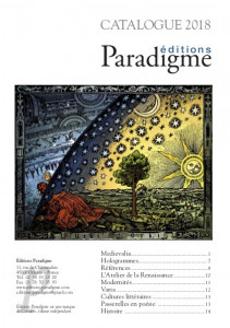 Une catalogue Paradigme 2018