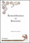 ebook REMEMBRANCES ET RESVERIES - Jean BATANY