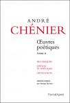 OEUVRES PŒTIQUES, Vol 2 - André CHÉNIER