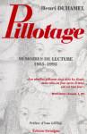 Pillotage : mémoires de lecture, 1985-1995 - Henri DUHAMEL