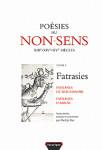 Ebook Poésies du non sens T1 Fatrasies d'Arras- Martijin RUS