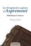 Les Fragments sagiens d'Aspremont - Denis HÜE